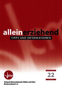 Taschenbuch Alleinerziehend: Tipps und Informationen Cover